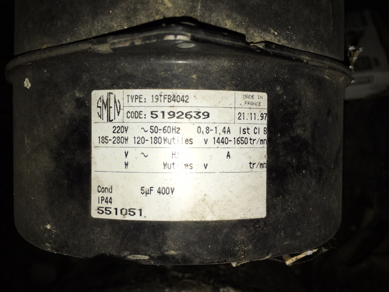 smen 19tf fanmotors ventilatormotoren